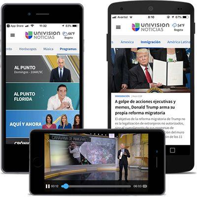 aplicaciones de univision para ver en vivo