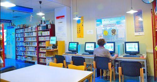 internet gratis en bibliotecas públicas