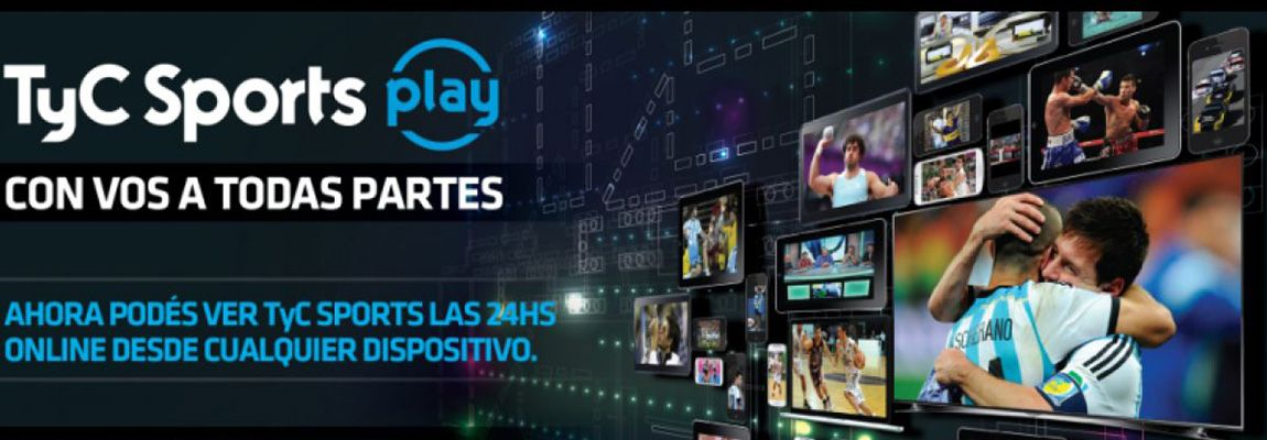 Cómo ver TyC Sports Play gratis