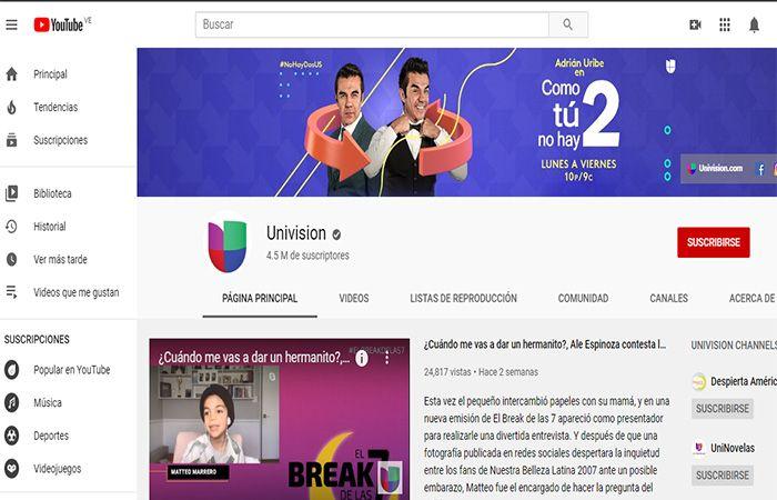 univision online gratis