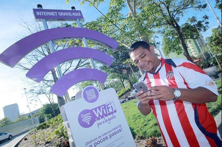 Internet gratis en zonas WiFi