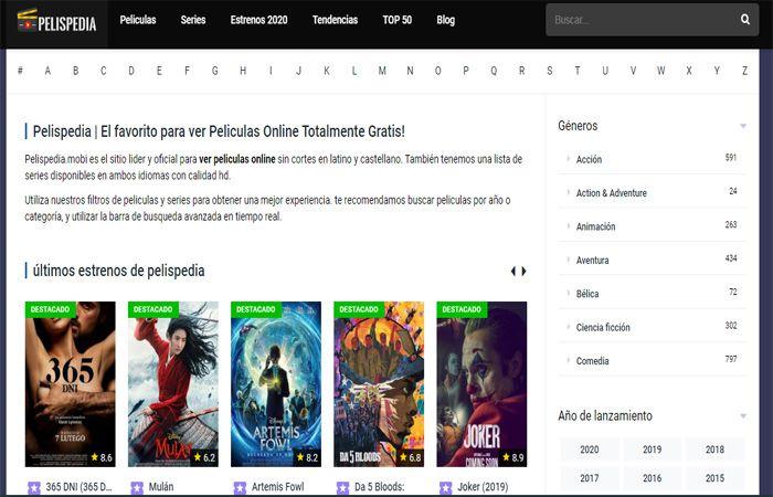 Pelispedia.biz – Películas gratis de forma fácil