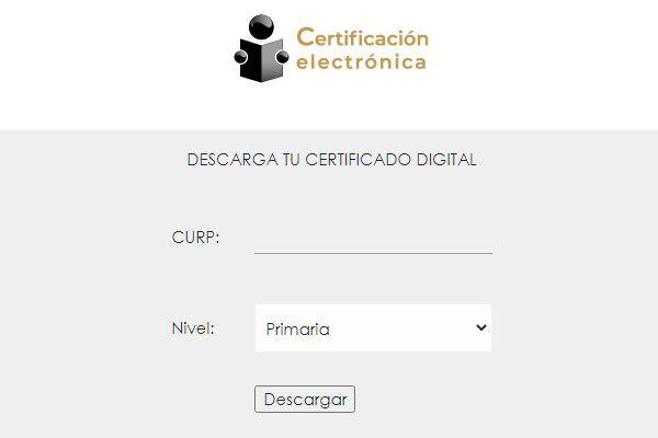 certificados de secundaria para imprimir