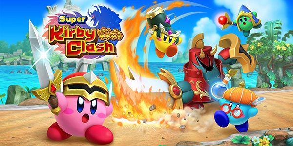 Super Kirby Clash - juegos switch descargar