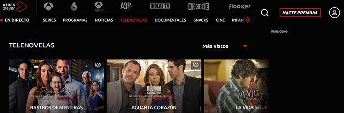 telenovelas gratis online