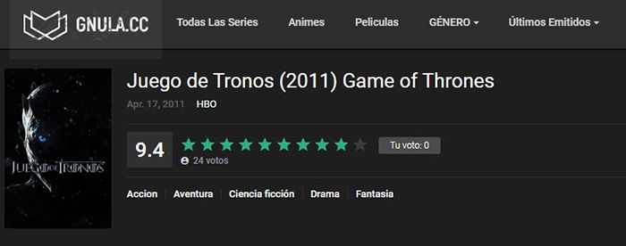ver game of thrones online