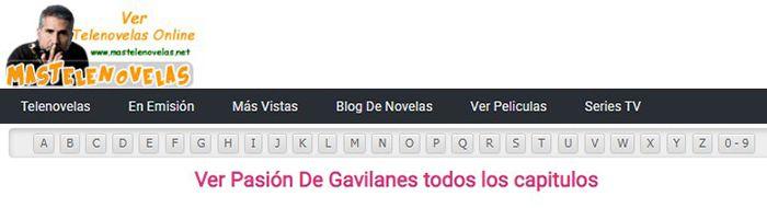ver pasion de gavilanes online capitulos completos gratis