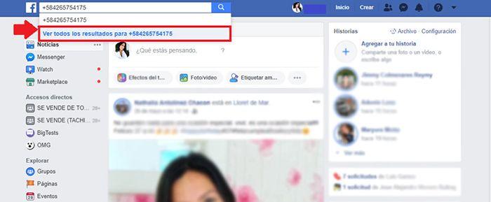 buscar personas por su numero de celular de forma gratuita a través de facebook
