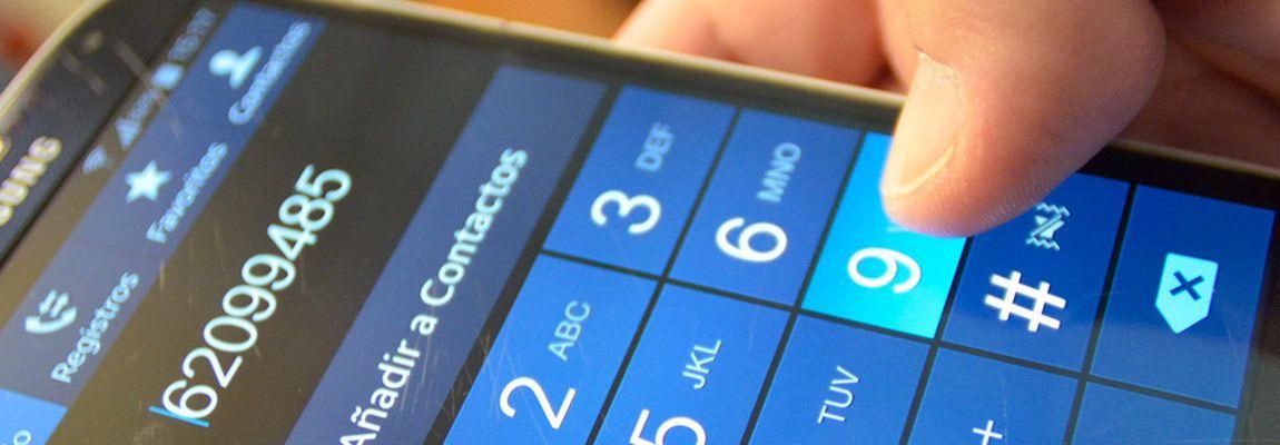 Buscar personas por su número de celular