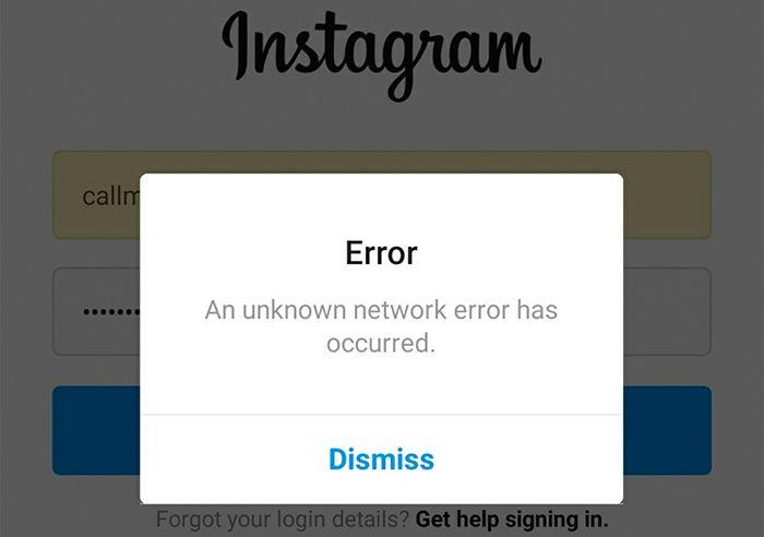 porque no me deja crear una cuenta en instagram