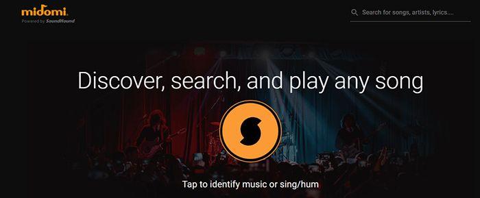 identificar canciones online con midomi
