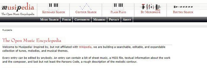 musipedia reconocedor de canciones online