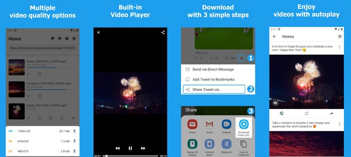 aplicaciones para descargar imágenes y videos de redes sociales