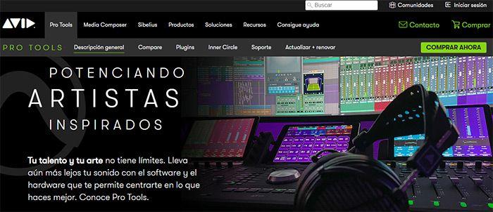 otros programas para edicion de audio avid pro tools