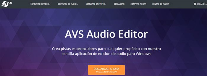 otros programas para edicion de audio avs audio editor