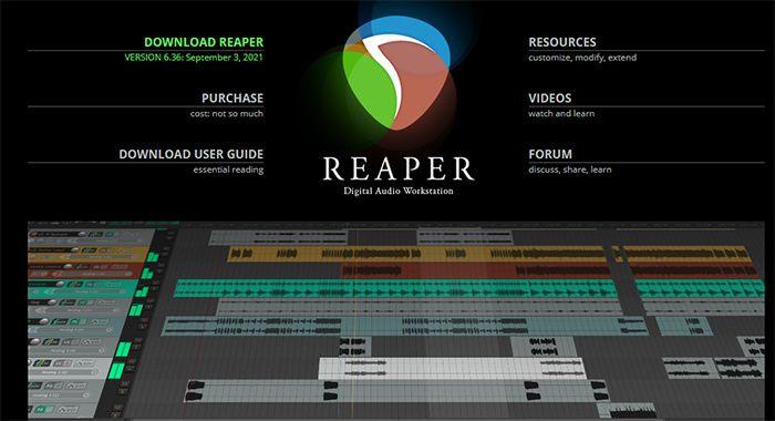 otros programas para edicion de audio reaper editor