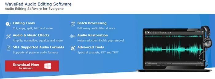 otros programas para edicion de audio wavepad audio editor