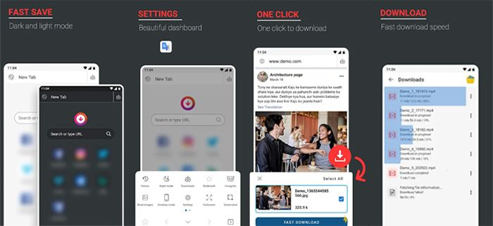 repost Instagram & vídeo downloader con fast save